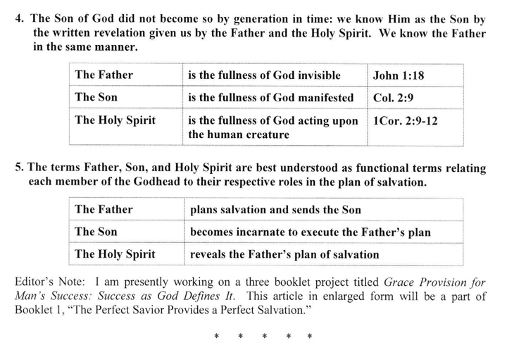 The Son of God According to Hebrews 1
